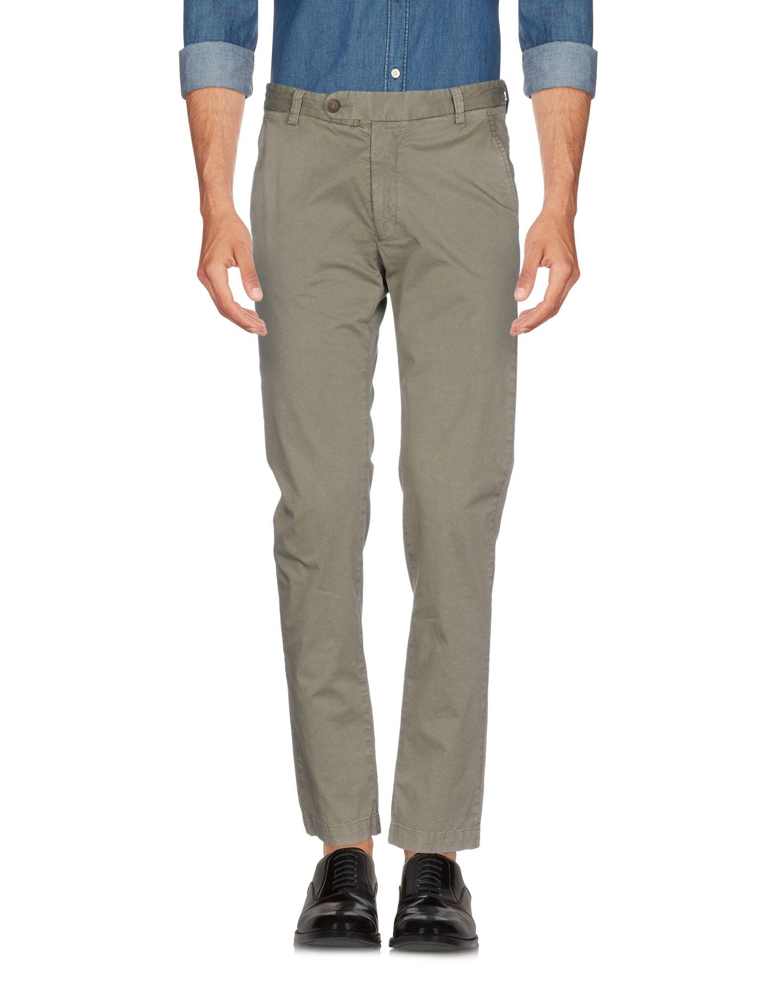 Authentic Original Vintage Style Casual Pants In Military Green