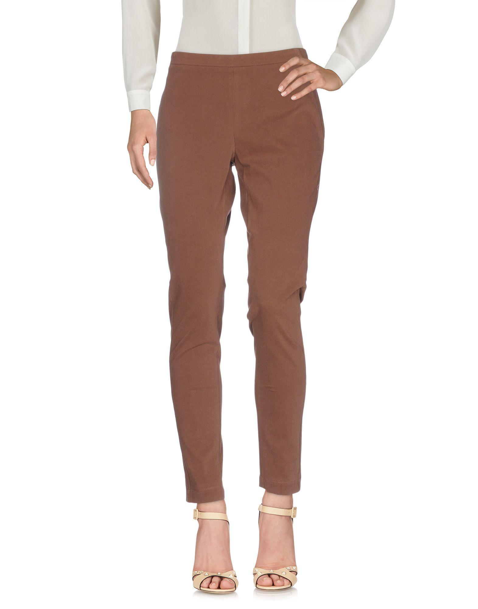 Brunello Cucinelli Casual Pants In Cocoa