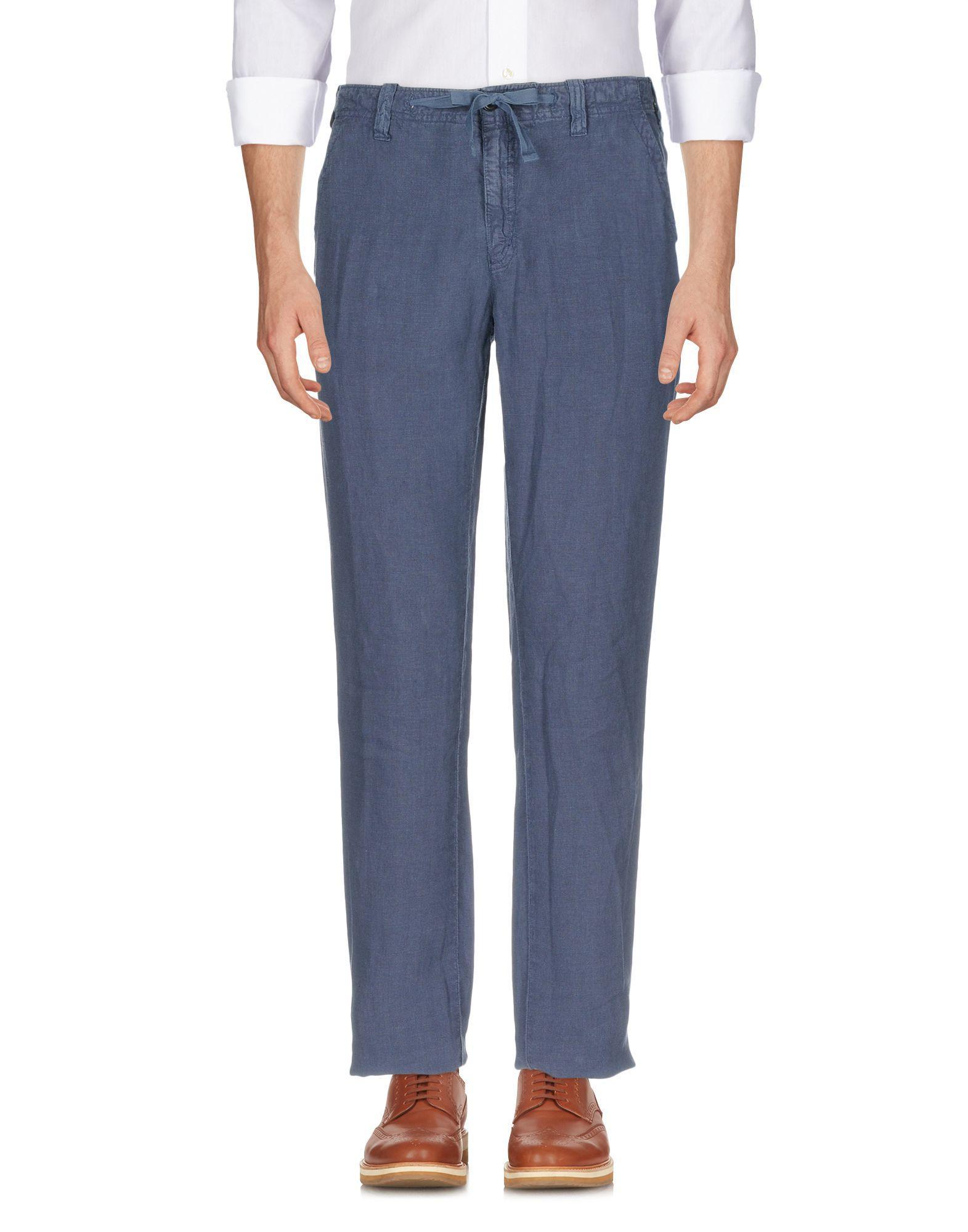 Hartford Casual Pants In Slate Blue