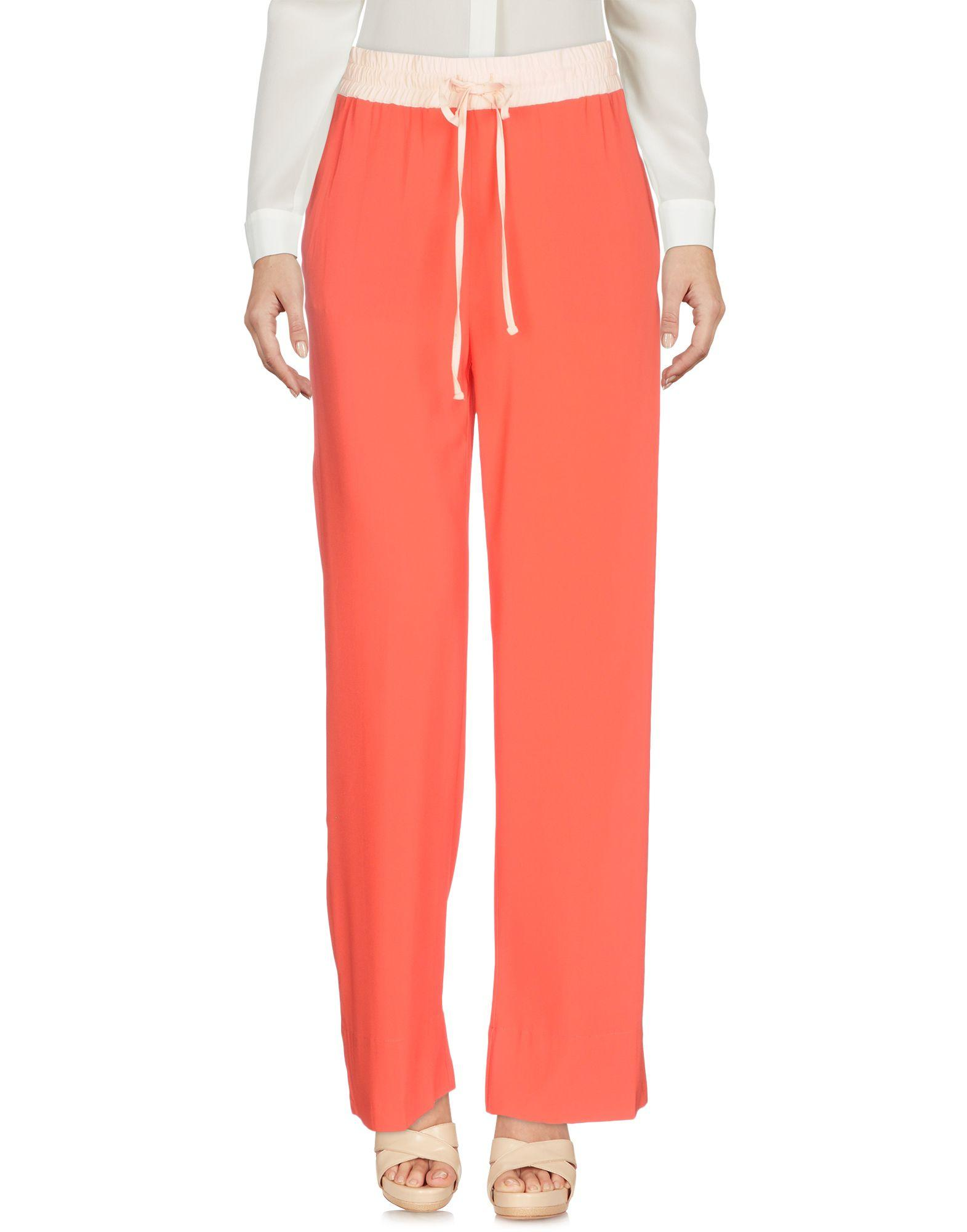 Jucca Casual Pants In Coral