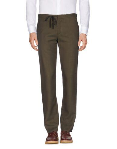 Maison Margiela Casual Pants In Military Green