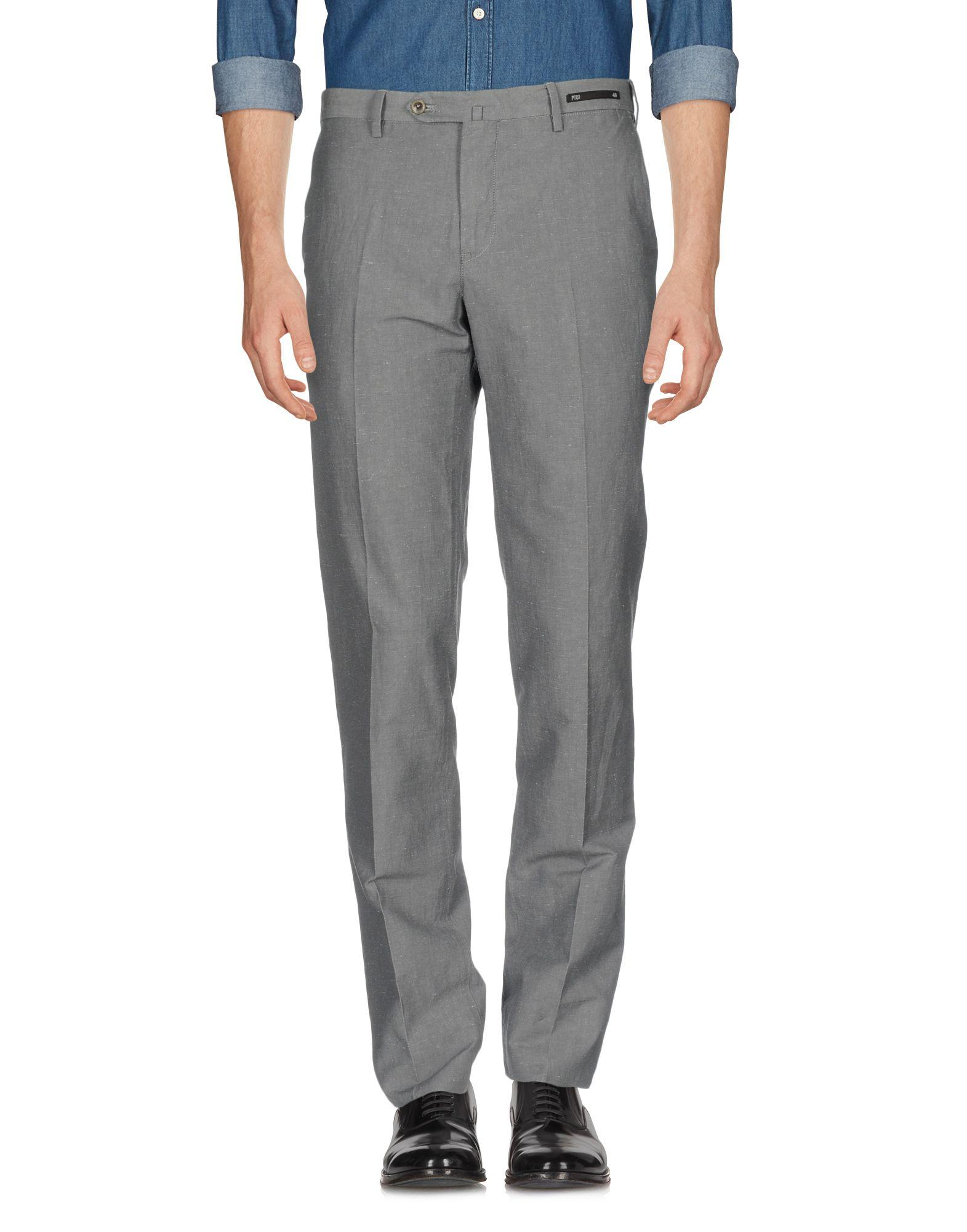 Pt01 Casual Pants In Grey