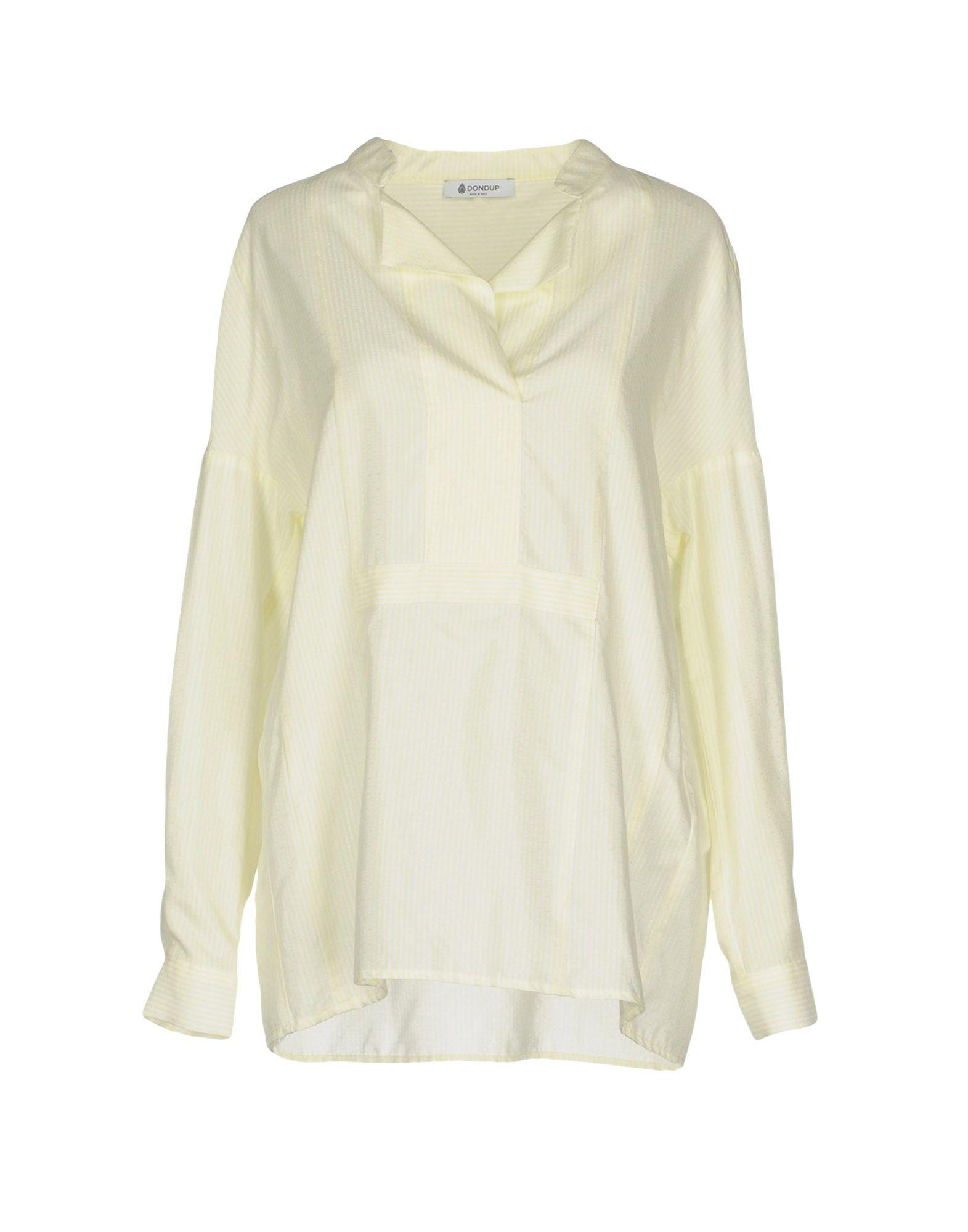 Dondup Blouse In Light Yellow