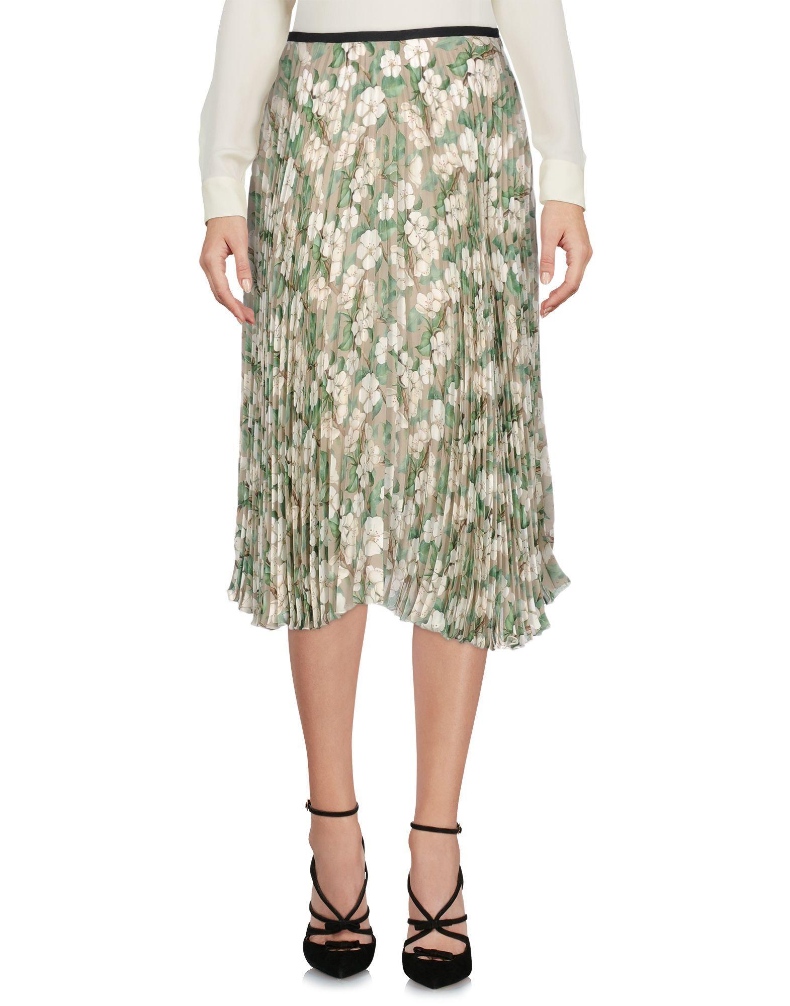 Giuseppe Di Morabito Knee Length Skirts In Light Grey