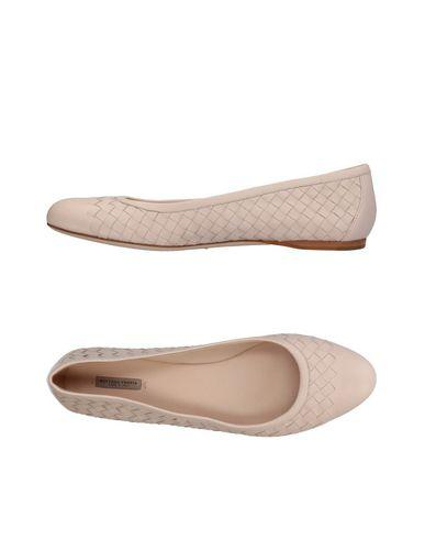 Bottega Veneta Ballet Flats In Light Pink