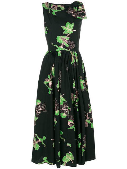 Vivetta Floral Print Flared Dress