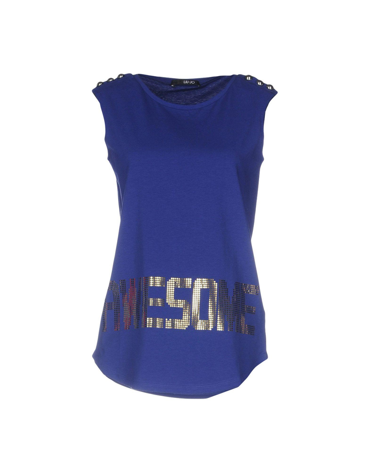 Liu •jo T-shirts In Blue