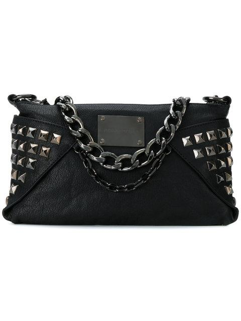 Pierre Balmain Studded And Chain Detail Shoulder Bag