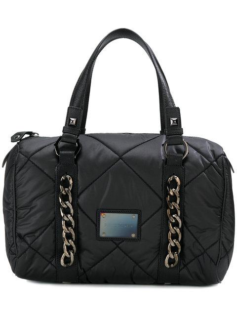 Pierre Balmain Quilted Chain Detail Tote Bag