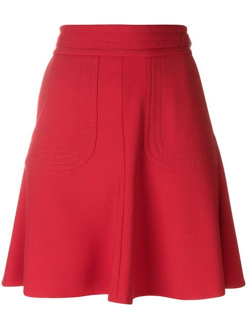 Red Valentino A-line Skirt