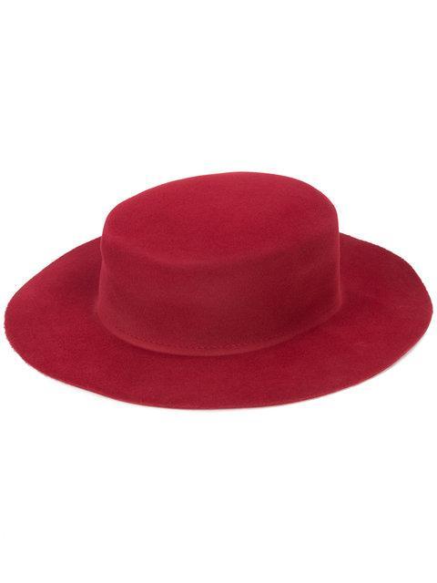 Ryan Roche Round Felt Hat
