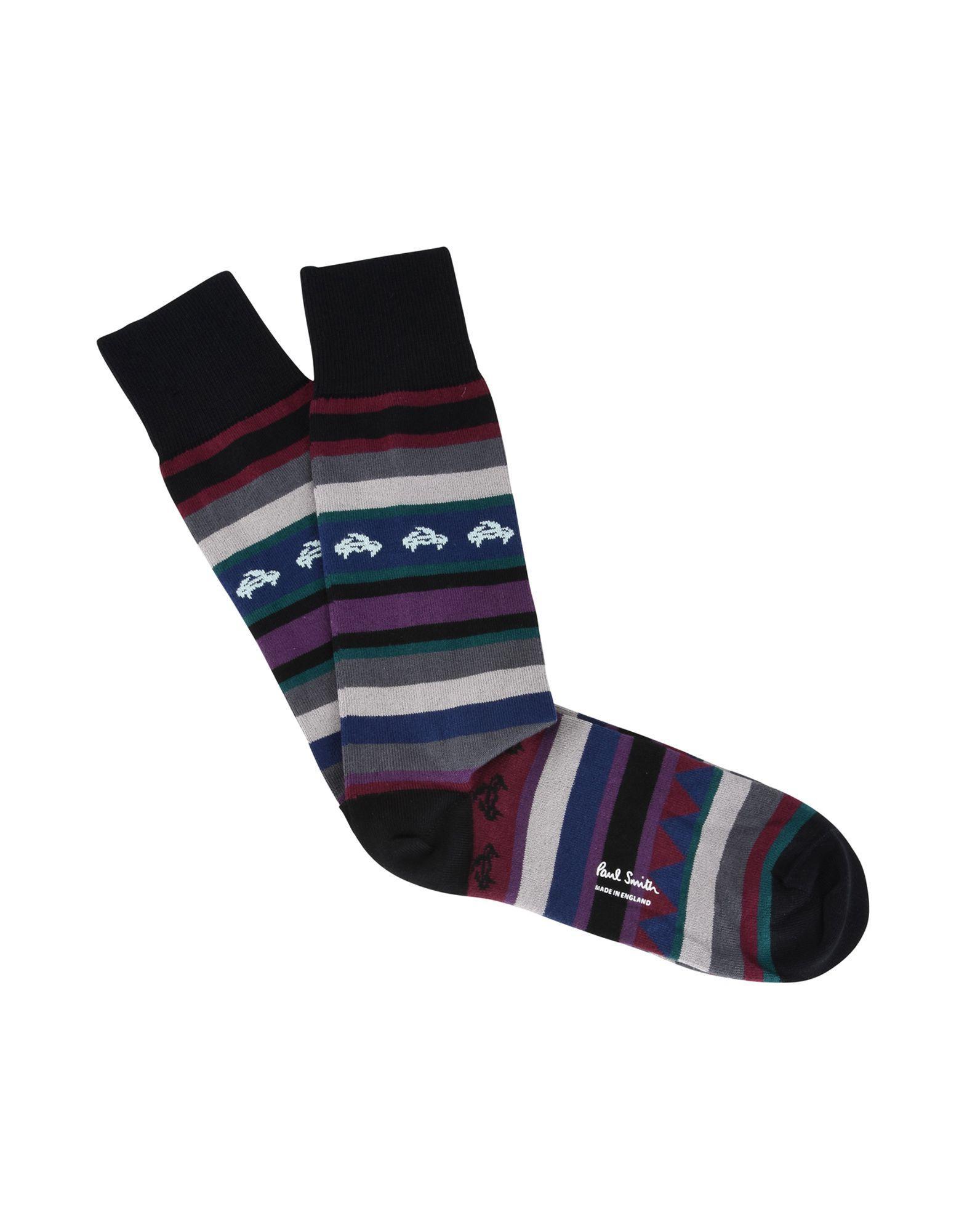 Paul Smith Short Socks In Black