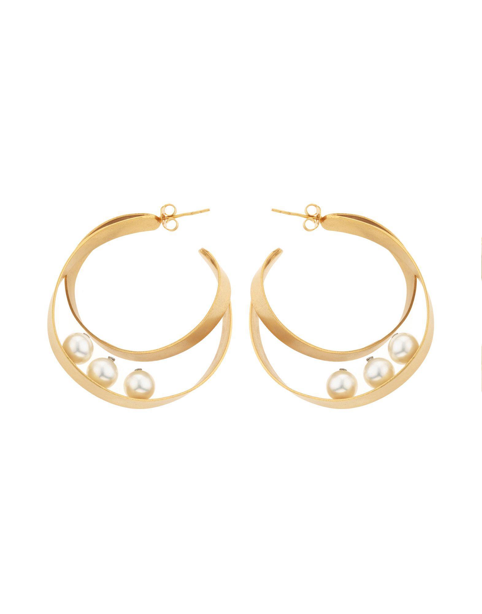 Sharra Pagano Earrings In Gold
