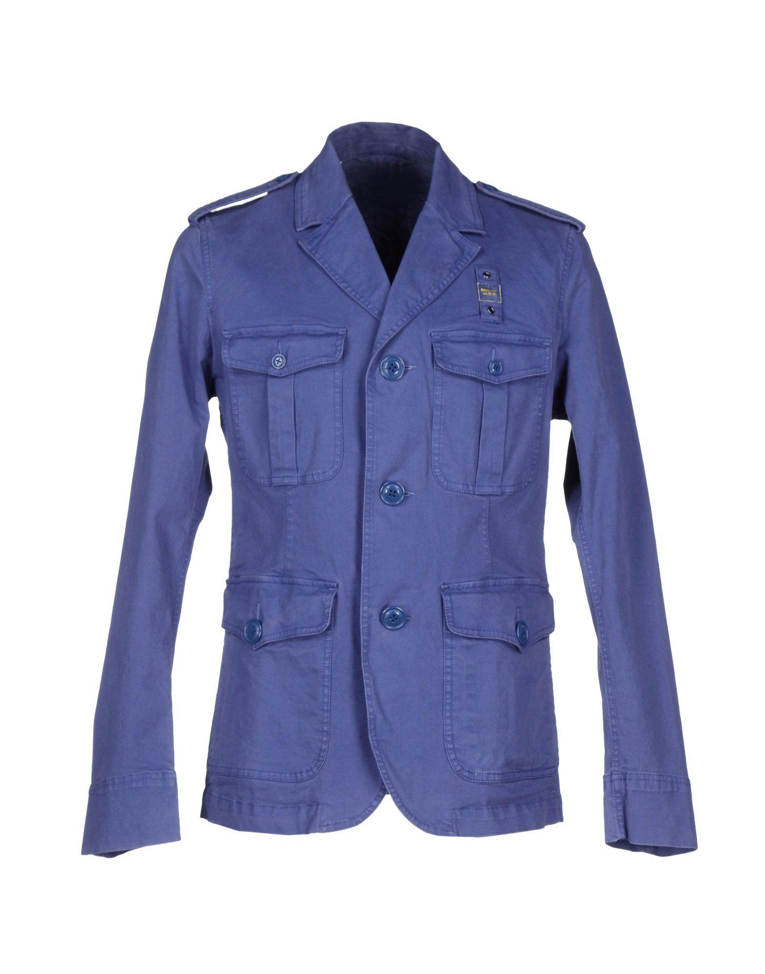 Blauer Blazer In Blue