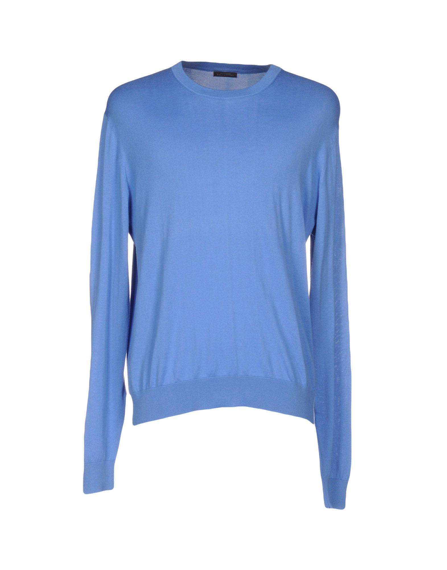 Ballantyne Sweaters In Pastel Blue