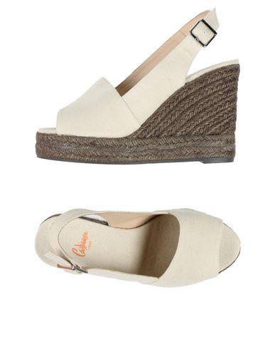 CastaÑer Sandals In Ivory