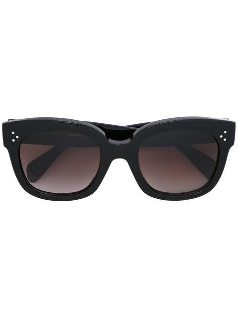 Celine CÉline Eyewear Audrey Sunglasses - Black
