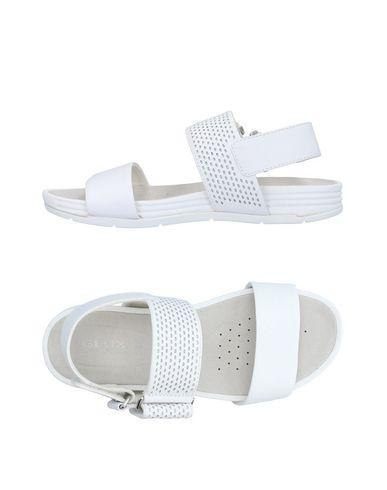 Geox Sandals In White