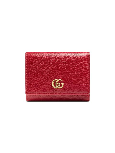Gucci Gg Marmont Leather Wallet In 6433