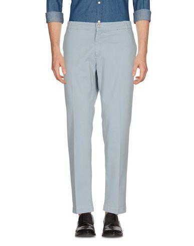 Entre Amis Casual Pants In Light Grey