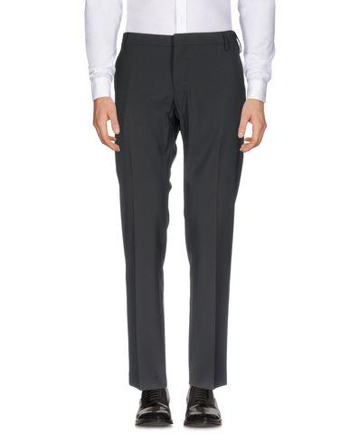 Entre Amis Casual Pants In Black