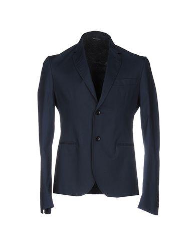 Grey Daniele Alessandrini Blazers In Dark Blue