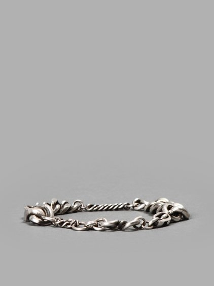 Werkstatt:mÜnchen Werkstatt Munchen Silver Chained Bracelet