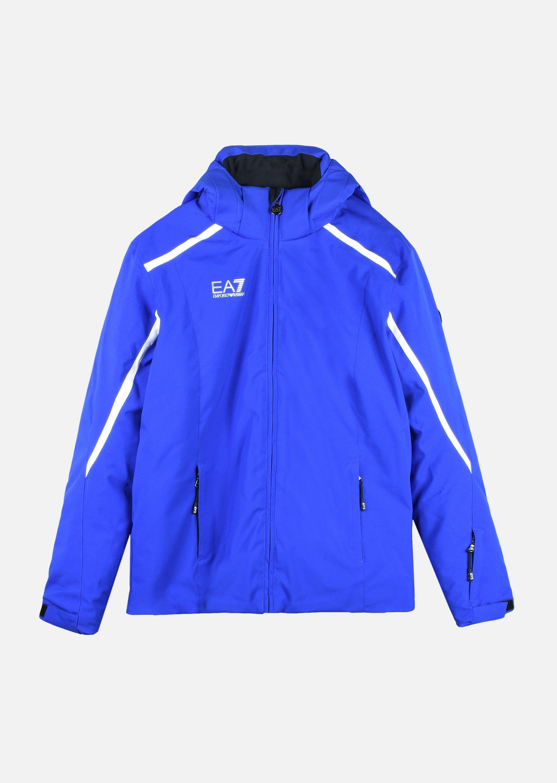 Emporio Armani Ski Jackets - Item 41775140 In China Blue ; Black