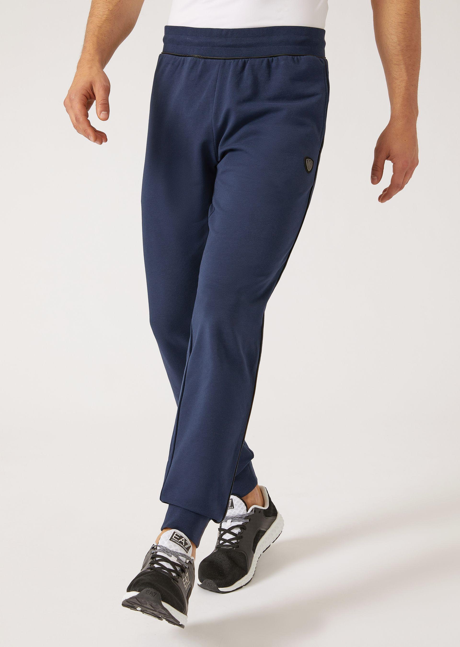Emporio Armani Joggers - Item 13137693 In Navy Blue ; Black
