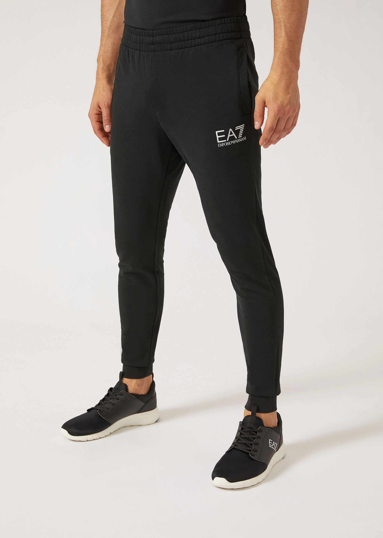 Emporio Armani Sweatpants - Item 13142737 In Navy Blue ; Black