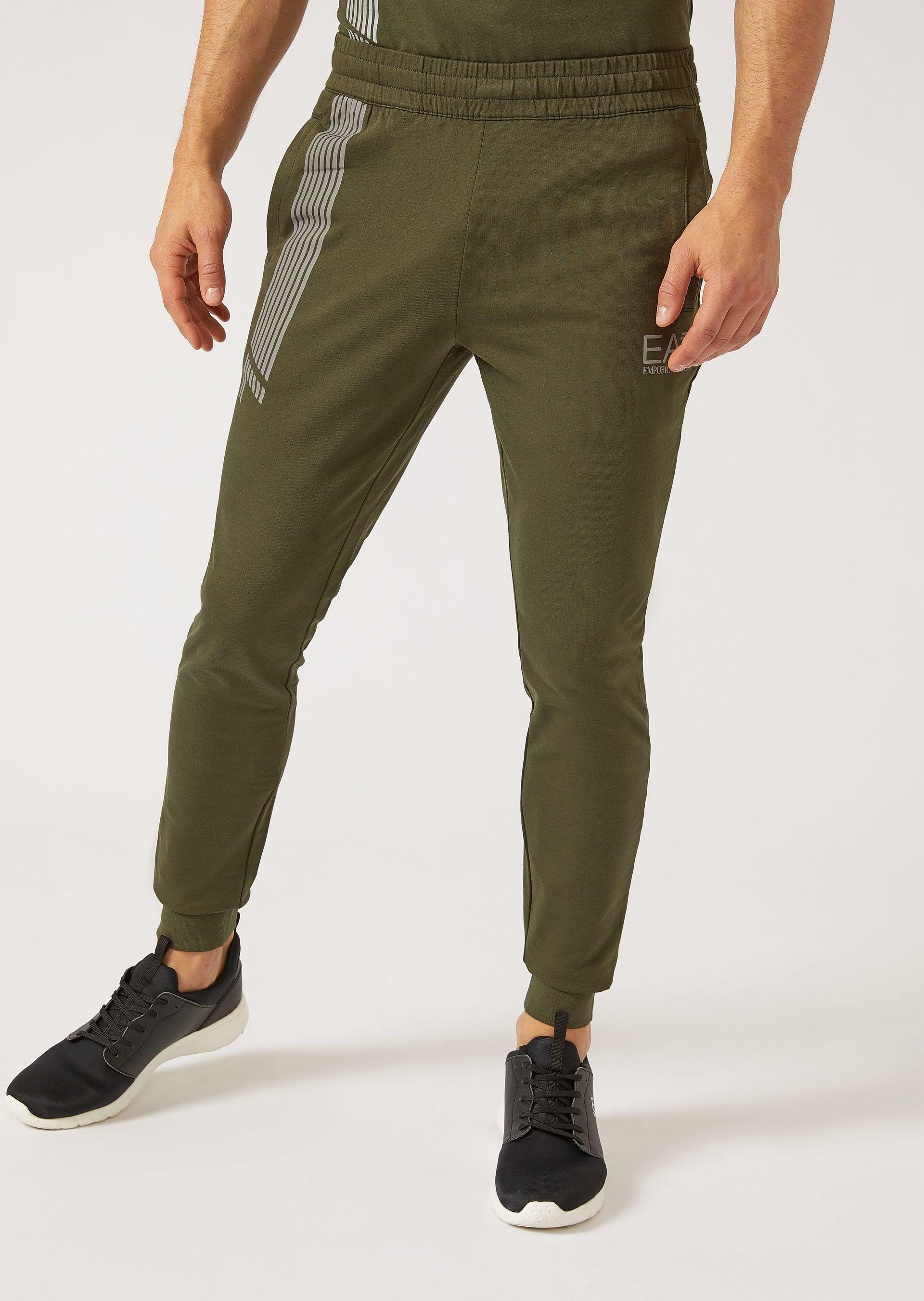 Emporio Armani Sweatpants - Item 13142762 In Light Gray ; Navy Blue ; Military Green ; Black