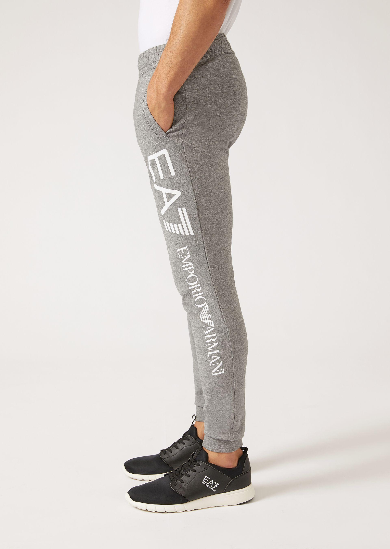 Emporio Armani Sweatpants - Item 13142779 In MÉlange Gray ; Black