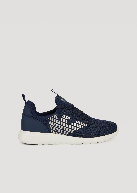 Emporio Armani Sneakers - Item 11407340 In White ; Black