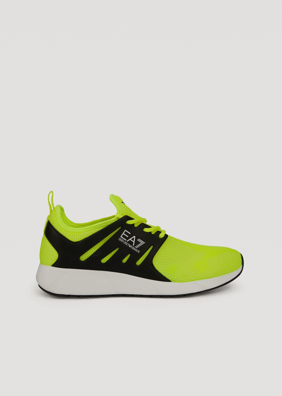 Emporio Armani Sneakers - Item 11407787 In Black