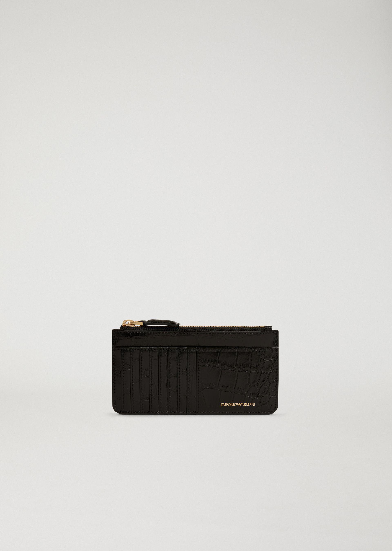 Emporio Armani Card Holders - Item 46560379 In Black