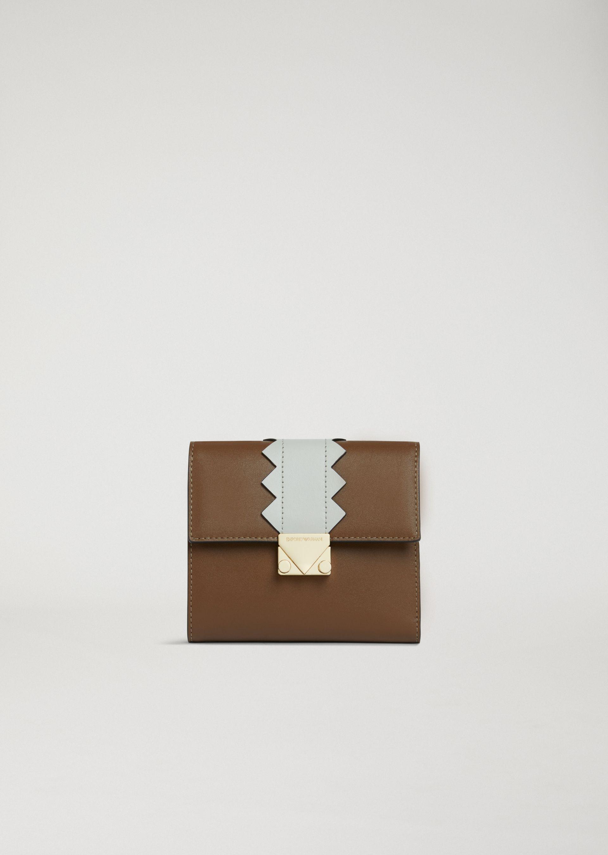 Emporio Armani Wallets - Item 46560381 In Brown