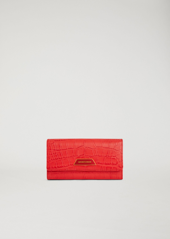 Emporio Armani Wallets - Item 46560382 In Coral