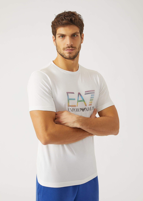 Emporio Armani T-shirts - Item 12139412 In Black ; White
