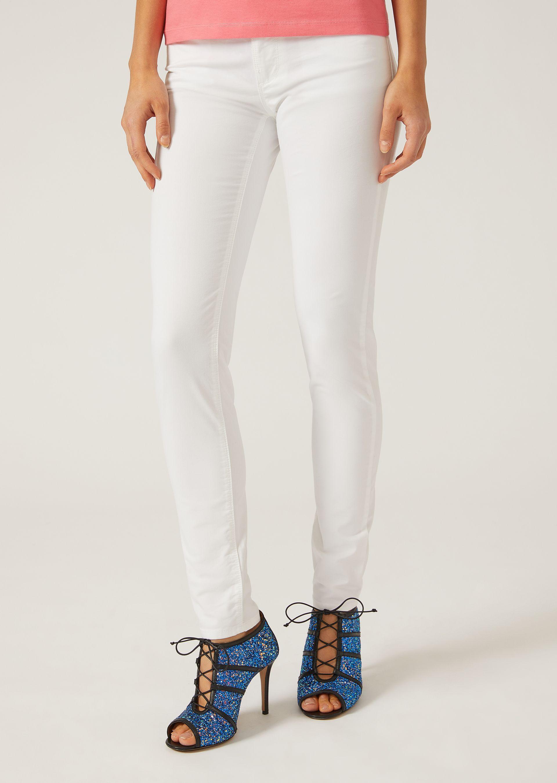 Emporio Armani Skinny Jeans - Item 42653627 In White ; Black ; Navy Blue