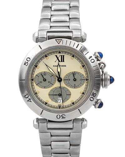 Cartier Pre-owned 37mm Pasha Chronograph Watch