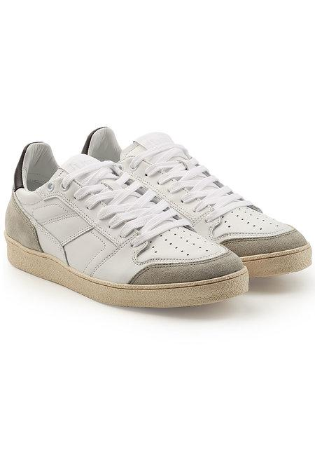 Ami Alexandre Mattiussi Sneakers With Leather And Suede In White