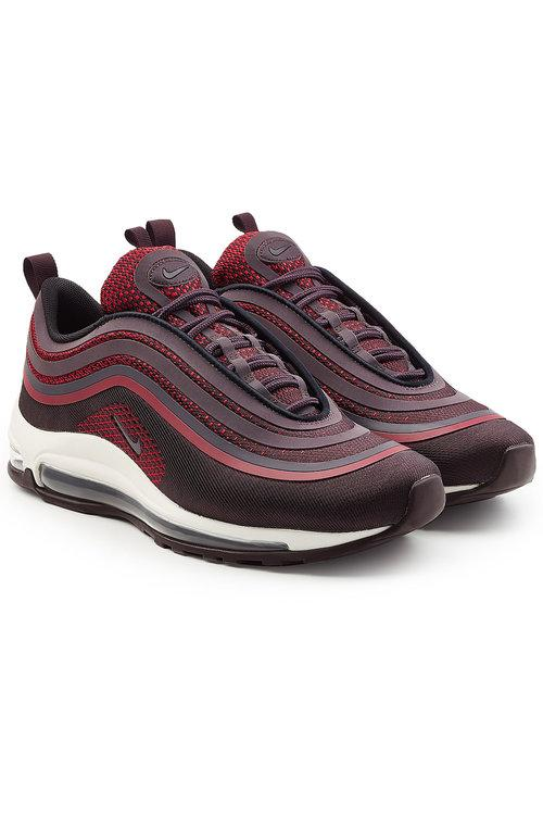 Nike Air Max 97 Ultra '17 Sneakers With Mesh In Red
