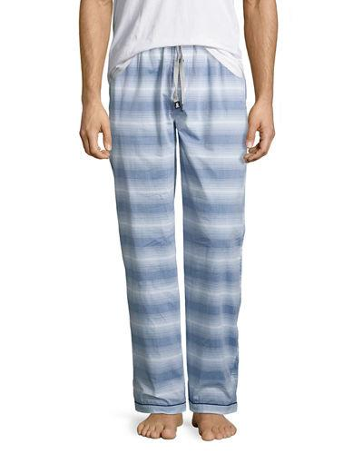 Psycho Bunny Print Woven Lounge Pants In Estate Bunny