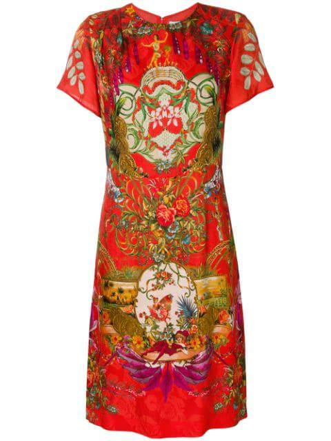 Etro Abito Carena Dress - Red