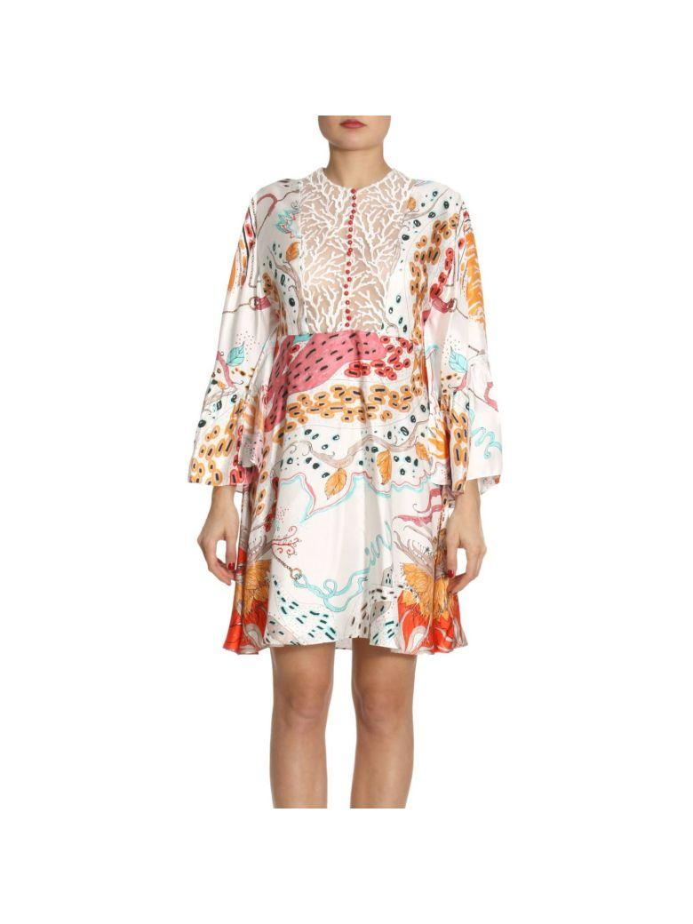 Roberto Cavalli Dress Dress Women  In Coral