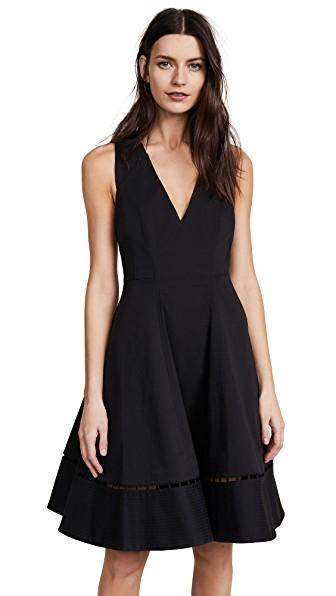 Zac Posen Jazz Dress In Black