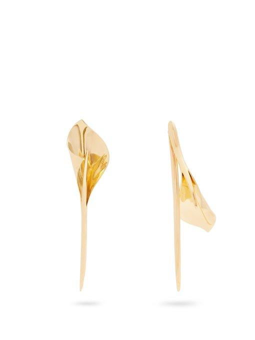 Ryan Storer Lily Gold-plated Earrings