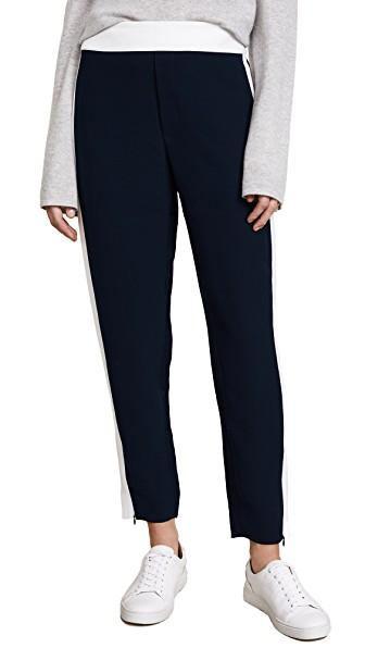 Club Monaco Abhy Pants In Flight Navy