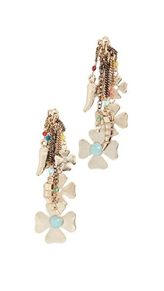 Rosantica Malocchio Earrings In Yellow Gold
