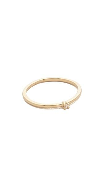 Cloverpost Petite Ring In Gold